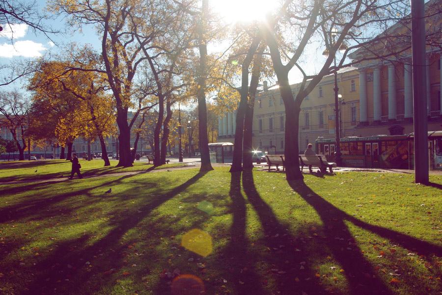 Осень в Петербурге