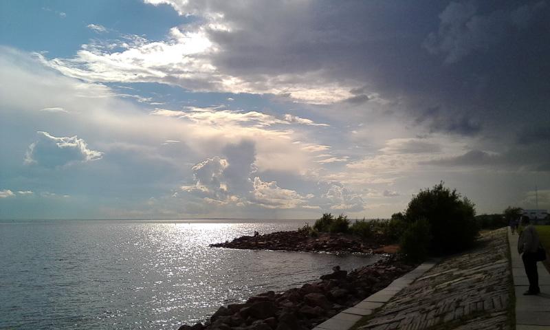 Гроза над Финским заливом